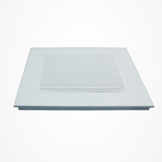 GTI Alum Clip-In Semi Perftd Ceiling Tiles 60x60x0.6mm