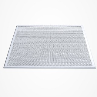 GTI Alum Clip-In Perftd Ceiling Tiles 600x600x0.6mm